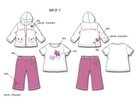 Girls 3 pcs set