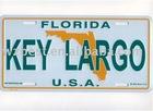 aluminium license plate bike plate door sign plate