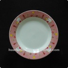 Porcelain kid's plate