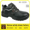Guangzhou leather factory working shoes (SC-2235)