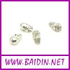 Shamballa Silver Plating Skull beads wholesale
