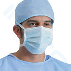 face mask with tie-on