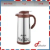 Stainless steel and plastic thermos coffee pot bpa free