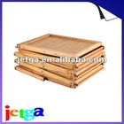 Newest! Low Carbon Bamboo Foldable Brochure Stand/Table-Environmental