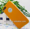 Fashion 2 in 1 mixed color TPU PC couple case for iphone5