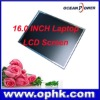 Hot selling for 16.0 inch Laptop LCD Screen LCD Display for Samsung