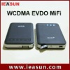 Portable WCDMA/EVDO wifi router with RJ45