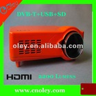 2200 lumens led beamer with HDMI, USB port