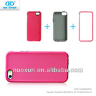 2012 PC&Silicone phone case for phone 5
