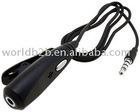 3.5mm Earphone to Headset Converter Adapter for Apple iPhone 3G (Black)