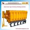 X(A) Linear type vibratory finishing machine