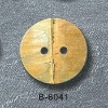 natural Bamboo button