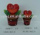 ceramic valenline gift valenline bank valenline heart money bank