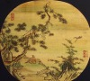 High quality pure manual lacquer painting screen