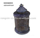 metal hurricame candle lamp for decoration