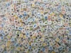 6x6mm Plastic Alphabet Letter Acrylic Beads