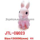Novelty rabbit plastic piggy bank for children