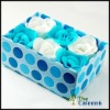 soap ,flower soap.smells good 6pc/set FZ