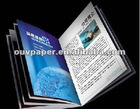 high quality brochure catalogue printing coated paper