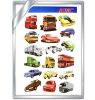 magnetic car sticker