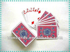 Washable 100% Plastic playing card