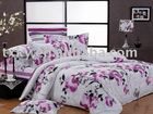 Luxury and high quality 4pcs 100% cotton bedding set