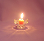 glass candle holder-(glass factory)