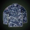 MILITARY DIGITAL OCEAN ACU JACKET WITH EPAULETTE