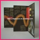 Beautiful promotional leaflet printing with different folds available for advertising