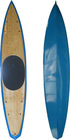 Bamboo racing stand up paddle board