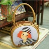 lolita cute kawaii Zipper PU tote Bags For Women