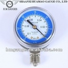 Bourdon Tube Oxygen manometer for oxygen bottle