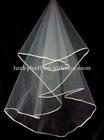2012 New Unique One-layer Ribbon Edge Wedding Veil