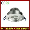 80*50mm LED Ceiling Light with 350mA Current driver,3*1W,epistar led chip,white color