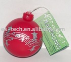 Christmas Ball Ornament In-ear Earphone
