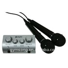 mini karaoke mixer amplifier