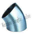 45 degree welded elbow (welded elbow,stainless steel elbow)
