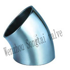 45 degree welded elbow (welded elbow,stainless steel elbow)