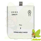 2800mAh White Micro USB Portable Mobile Battery for HTC/Blackberry/Nokia/Samsung/SonyEricsson/LG