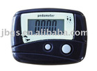 Pedometer for step counter
