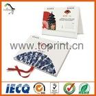Chinese style desk calendar printing