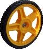 12 inch lawnmower wheel with bearing