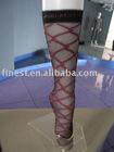 Lady's jacquard fashion knee high