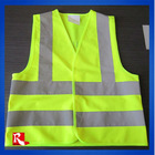 Children high visibility 2 bands & braces waistcoats