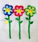 Plush flower ( plush house buckle)