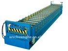Color steel sheet wave panel forming machine