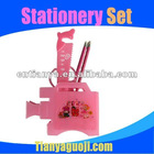 Horn plastic pen holder /container suit, stationery, stationery combination