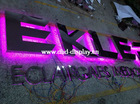 waterproof RGB backlit LED channel letter