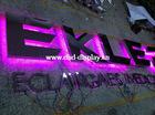 waterproof RGB backlit LED channel letter
