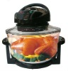 12L Electric Premium Halogen Oven Cooker Black